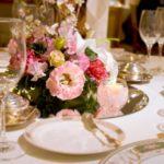 結婚式・ウェディングのテーブルセット